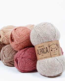 Pređa za pletenje i kukičanje 100% alpaka 50 g = oko 167 m 24,00 - 25,00 kn