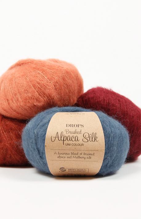 Pređa za pletenje i kukičanje 77% alpaka, 23% svila 25 g = oko 140 m 19,00 kn