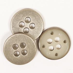 Gumb Drops 542 metalni čelične boje 23 mm